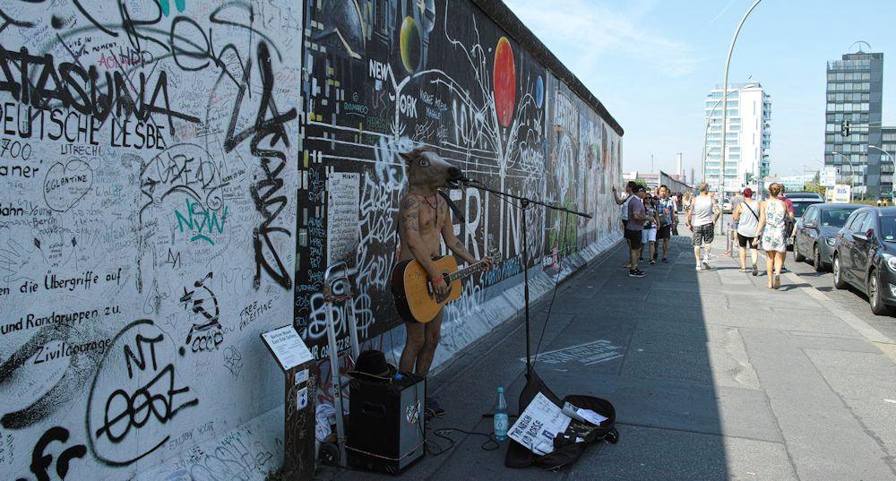 1 イーストサイドギャラリー 2015年夏の中欧をめぐる旅でベルリンに5泊